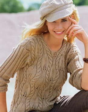 женская модель для вязания