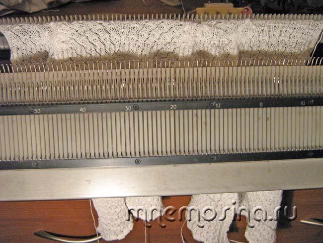 Узоры вязание на однофонтурной машине 57